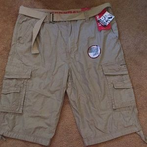 Men's NWT Unionbay Messenger cargo shorts sz 36
